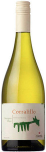 Matetic Corralillo Sauvignon Blanc 2012, San Antonio Valley Bottle