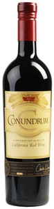 California Red   Conundrum 2011 Bottle