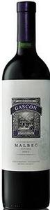 Familia Gascon Malbec 2012 Bottle