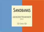 Sandbanks Gewurztraminer 2011, Ontario VQA Bottle