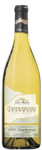 Gehringer Brothers Dry Rock Vineyards Unoaked Chardonnay 2009, VQA Okanagan Valley Bottle