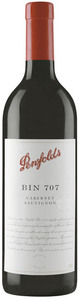 Penfolds Bin 707 Cabernet Sauvignon 2010 Bottle