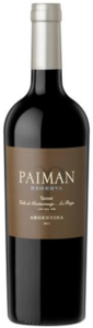 Paiman Reserva Tannat 2011, Chañarmuyo Valley, La Rioja Bottle