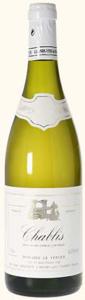 Domaine Le Verger Chablis 2011, Ac Bottle
