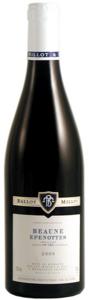 Domaine Ballot Millot & Fils Beaune Epenottes 2009, Ac Côte Beaune, 1er Cru Bottle