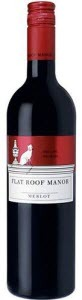 Flat Roof Manor Merlot 2012 Bottle