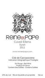 Reine Et Pape Cuvee Ellena 2011, Cite De Carcassonne Bottle