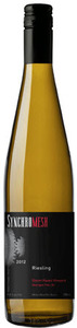 Synchromesh Riesling Storm Haven Vineyard 2012, Okanagan Falls, Okanagan Valley Bottle