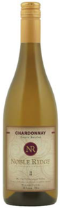 Noble Ridge Chardonnay 2010, VQA Okanagan Valley Bottle