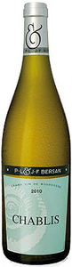 P.L. & J.F. Bersan Chablis 2010 Bottle