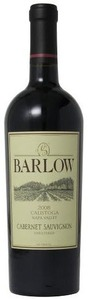 Barlow Cabernet Sauvignon 2008, Calistoga, Napa Valley, Unfiltered Bottle