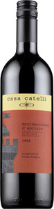 Casa Catelli Montepulciano D'abruzzo 2011, Doc Bottle