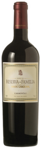 Santa Carolina Reserva De Familia Carmenère 2010, Rapel Valley Bottle