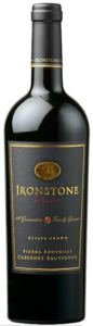 Ironstone Reserve Estate Grown Cabernet Sauvignon 2008, Sierra Foothills Bottle