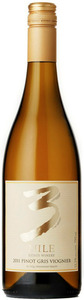 3 Mile Estate Winery Pinot Gris Viognier 2012, VQA Okanagan Valley Bottle