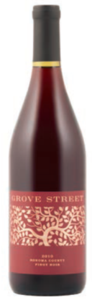 Grove Street Pinot Noir 2011, Sonoma County Bottle