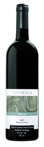Nashwauk Shiraz 2010, Mclaren Vale Bottle