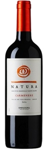 Natura Carmenère 2012, Colchagua Valley Bottle