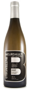 Butterfield Meursault 2011, Burgundy Bottle
