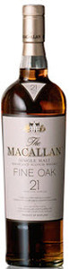 The Macallan Fine Oak 21 Years Old Highland Single Malt, Triple Cask Matured Bottle