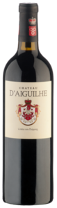 Château D'aiguilhe 2010, Ac Côtes De Bordeaux   Castillon Bottle