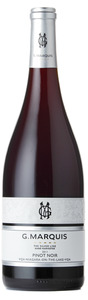 G. Marquis The Silver Line Pinot Noir 2011, VQA Niagara On The Lake, Niagara Peninsula Bottle