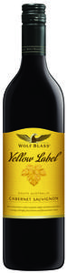 Wolf Blass Yellow Label Cabernet Sauvignon 2012, South Australia Bottle