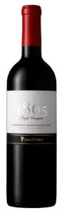 San Pedro 1865 Single Vineyard Cabernet Sauvignon 2011, Maipo Valley Bottle