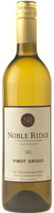 Noble Ridge Pinot Grigio 2012, BC VQA Okanagan Valley Bottle