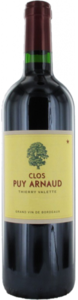 Château Clos Puy Arnaud 2009, Ac Côtes De Bordeaux   Castillon Bottle