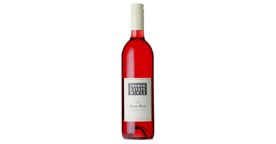 Church Amp State Syrah Rose 2012 Expert Wine Ratings And