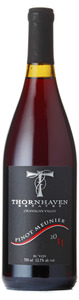 Thornhaven Pinot Meunier 2011, BC VQA Okanagan Valley Bottle