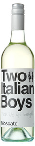 Two Italian Boys Moscato, Riverina Bottle