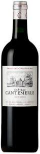 Château Cantemerle 2009, Ac Haut Médoc Bottle