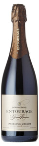 Jackson Triggs Entourage Grand Reserve Sparkling Merlot 2008, VQA Niagara Peninsula Bottle