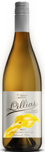 Westcott Lillias Unoaked Chardonnay 2012, VQA Vinemount Ridge Bottle