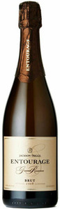 Jackson Triggs Entourage Grande Reserve Brut Méthode Classique Sparkling Wine 2008, VQA Niagara Peninsula, Ontario Bottle