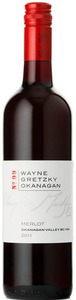 Wayne Gretzky Okanagan Merlot 2011, BC VQA Okanagan Valley Bottle