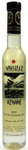 Whistler Sauvignon Blanc Icewine 2011, BC VQA Okanagan Valley (200ml) Bottle