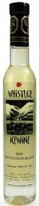 Whistler Sauvignon Blanc Icewine 2012, BC VQA Okanagan Valley (200ml) Bottle