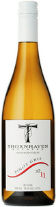 Thornhaven Pinot Gris 2011, BC VQA Okanagan Valley Bottle