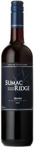 Sumac Ridge Cellar Selection Merlot 2011, BC VQA Okanagan Valley Bottle