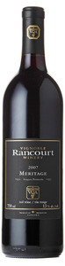 Vignoble Rancourt Meritage 2007, VQA Niagara Peninsula Bottle