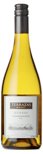 Terrazas Reserva Chardonnay 2012, Salta Bottle