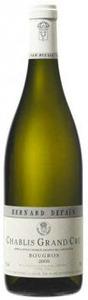 Domaine Bernard Defaix & Fils Chablis Bougros Grand Cru 2010 Bottle