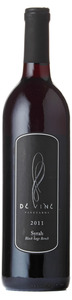 De Vine Vineyards Syrah Black Sage Bench 2011, Okanagan Valley Bottle