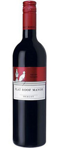 Flat Roof Manor Merlot 2008 Bottle