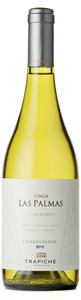 Trapiche Finca Las Palmas Chardonnay 2012, Uco Valley, Mendoza Bottle