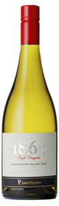 San Pedro 1865 Single Vineyard Sauvignon Blanc 2013, Leyda Valley Bottle