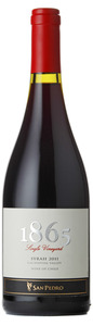 San Pedro 1865 Single Vineyard Syrah 2011, Cachapoal Valley Bottle